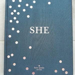 "Kate Spade Book ""She"""